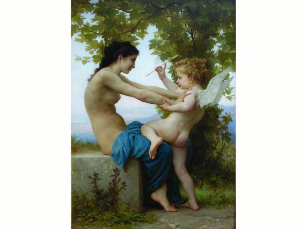 Bouguereau_YoungGirl_Eros